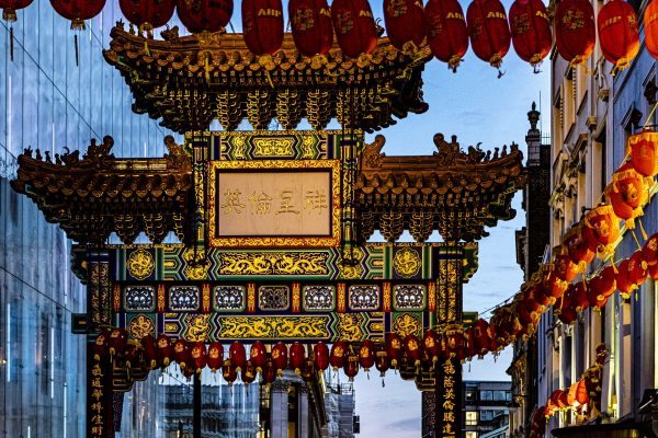 A Roar of Drums Reopens London Chinatown