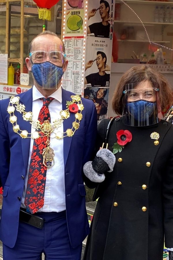 The London Chinatown Walk-about: The Lord Mayor and Mayoress of Westminster