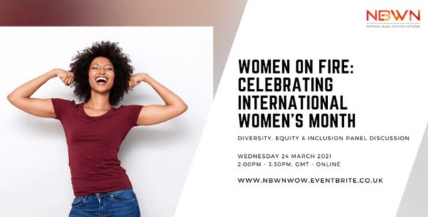 Women on Fire 24 March 2021