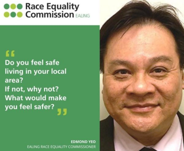 Mr Edmond Yeo JP sits on the Race Equality Commission