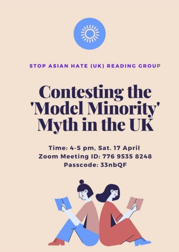 Stop Asian Hate (UK): Contesting the 'Model Minority' Myth in the UK