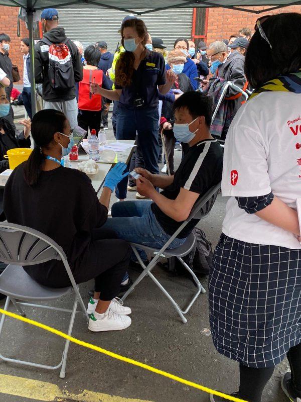 FREE Vaccine Jab in Chinatown 流动疫苗接种服务 27/05/2021