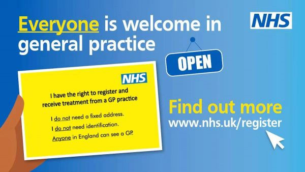 Have you registered with a GP?