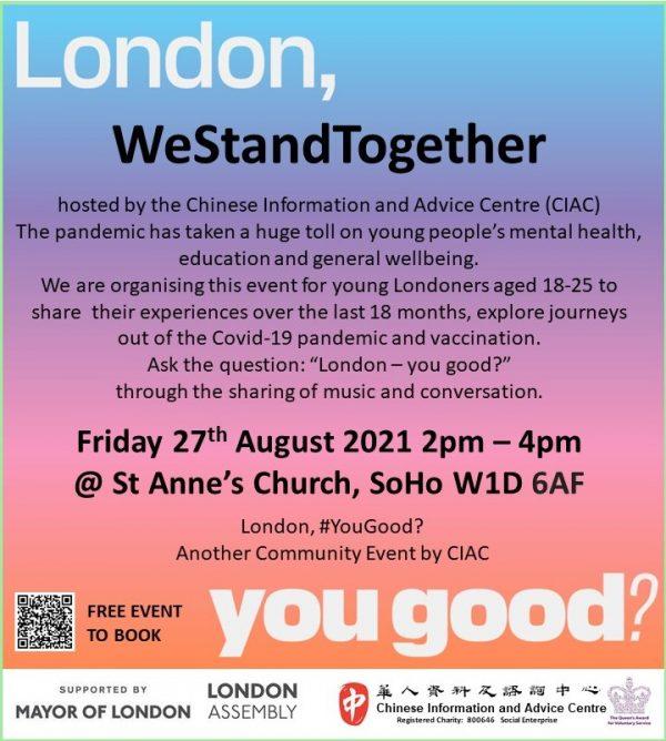 London, #YouGood?